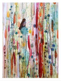 Sur la route, sylvie demers, 2014  http://www.artbombdaily.com/details/1787  Original on sale today...Hurry!
