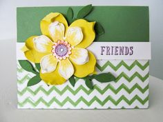 Stampin Up Flower Frenzy Gift Card Holder   Video Tutorial