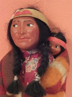 Skookum dolls are not made by Native Americans, but they are highly collectible.