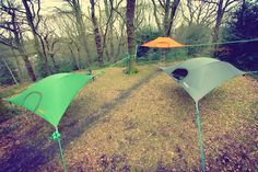 Suspended tree tents - Tentsile Stingray Tent