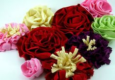 T Shirt Fabric Flowers