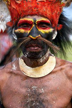 Sing Sing de Mount Hagen, Papua, New Guinea