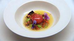Tuna pearl with sea urchin vinaigrette | MasterChef Australia #MasterChefRecipes