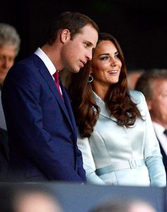 Prince William and Kate Middleton took in Friday's 2012 Olympic Opening Ceremonies in London