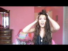 How To Scrunch Hard To Curl Hair