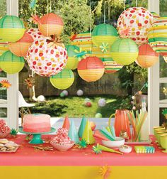 Create a theme for your party and bring it to life through your decor! The Oh Joy for Target collection launches online and in stores March 16.