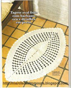 OFICINA DE FIOS.: Tapete em barbante