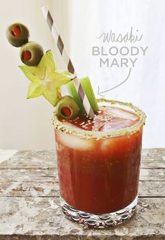 Wasabi Bloody Mary Recipe