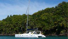 50 ft catamaran . Lekke man