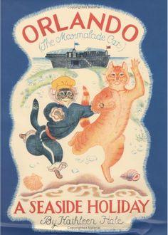 Orlando the Marmalade Cat goes to the Sea!