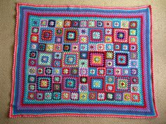 Sweet Flower Granny Blanket by Attic24, via Flickr