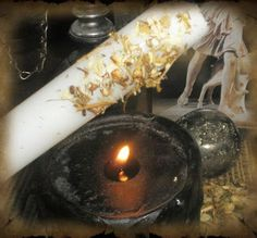 THE ARTISTIC WITCH: Making herbed & oiled candles