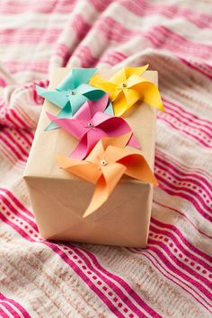 Wrapped in pinwheels