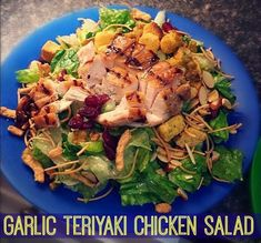 Salads for Two: Garlic Teriyaki Chicken Salad & Buffalo Chicken Salad!