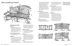 bench plan, driftwood bench