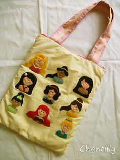 "Bolsa ""Princesas"""