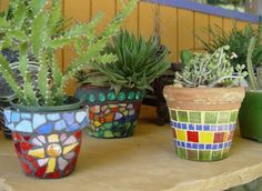 Image detail for -painted_mosaic_terra_cotta_pots