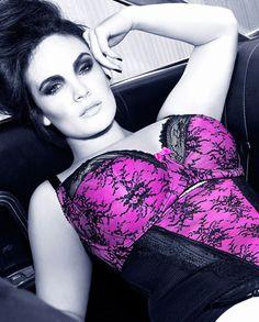 City Chic - SAMARA BRA + CINCHER + SHORTY - Women's plus size fashion - lingerie