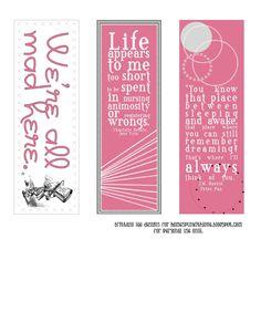 Memorial bookmark floral spring harvest bookmark template for Memorial bookmarks template free