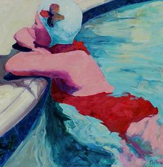 Swimmer by Tracey Sylvester Harris from Skidmore Contemporary Art