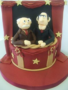 Waldorf and Statler (by CAKE Chester)
