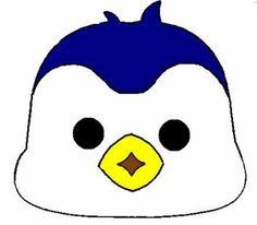 Маска пингвин своими руками из бумаги