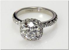 cushion cut...  love it...