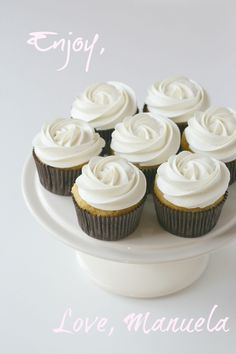 & cupcakes on Pinterest | White Chocolate Cupcakes, Lemon Cupcakes ...
