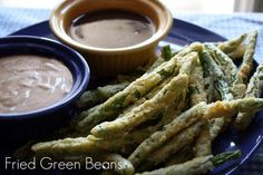 Fried green beans!!