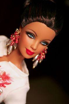OOAK Repaint AA Barbie by Mattel Seloj Spa   eBay