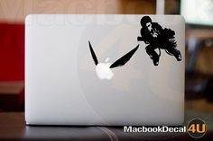 Turn a MacBook's Apple logo into the golden snitch in a game of Quidditch with this Harry Potter decal. $8.90 from etsy seller macbookdecal4u.