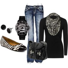 Zebra Prints :) might add bright color such as hot pink or teal