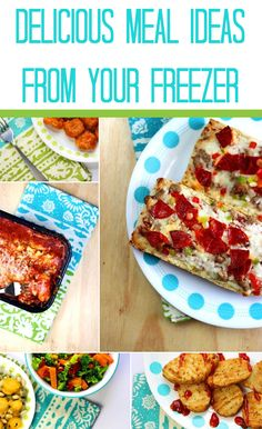 Delicious Meal Ideas from Your Freezer in Minutes #ad