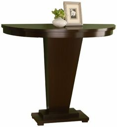 Half moon table on pinterest graphite chalk paint for 12 deep console table