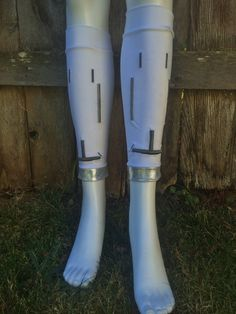 R2D2 inspired Calf Sleeves Running Legs for Race by RunAliceRunCo, $29.00