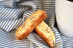 Almond Biscotti.  America's Test Kitchen recipe.