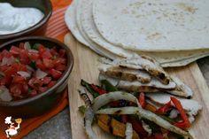 Grilled Chicken Fajitas and Weekly Menu Plan | Pocket Change Gourmet