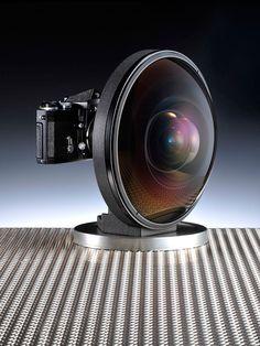 Fancy - Nikon Fisheye-Nikkor 6mm f/2.8 lens
