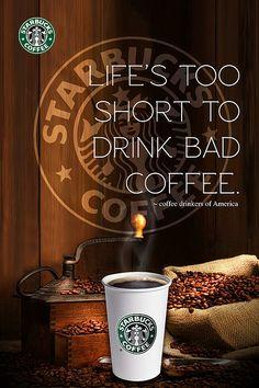Starbucks Poster Concept