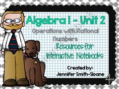 Algebra Notebook Bundle: Operations with Rational Numbers from 4mulaFun on TeachersNotebook.com -  (71 pages)  - Algebra Notebook Bundle: Operations with Rational Numbers