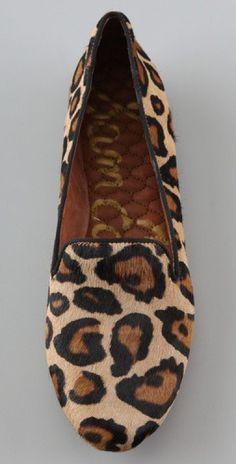Sam Edelman Leopard Loafers.