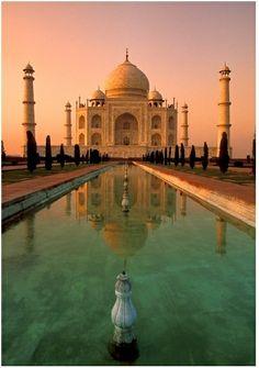 Taj Mahal, India | wanderlust