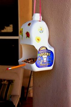 10 Ways to Reuse a Milk Container
