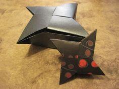 scatola con coperchio a stella - Origami: Evi's Star Box, via YouTube.