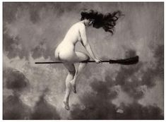 Why do witches ride brooms? To fly, of course. And also to administer hallucinogenic drugs directly to the mucous membranes of their genitals. Click through and never look at a witch the same again...