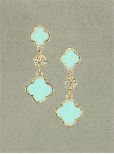 Natalie Earrings from P.S. I Love You More. Shop online at: https://psiloveyoumore.storenvy.com crystals, bling, boutiques, crystal earrings, mint natali, accessorizing outfits, natali earring, earring ineeddi, mint earring