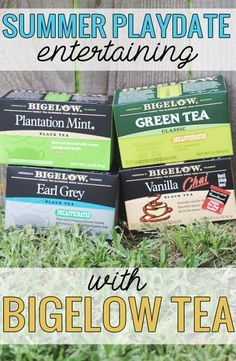 Summer Playdate Entertaining with Bigelow Tea
