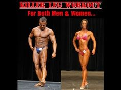 Killer Leg Workout Routine For Both Men  Women - YouTube