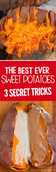 How To Cook Sweet Potatoes - The Three Secret Tricks!