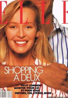 Estelle Lefebure  -  Elle 1988